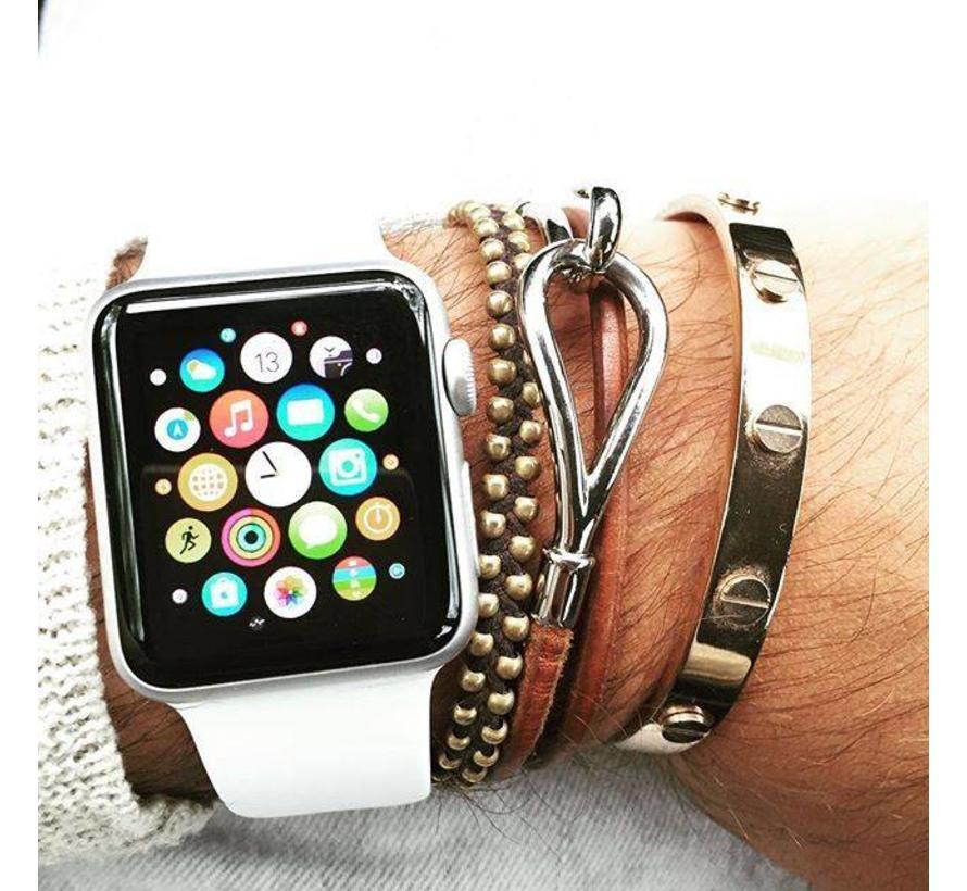 42mm Apple Watch wit sport bandje