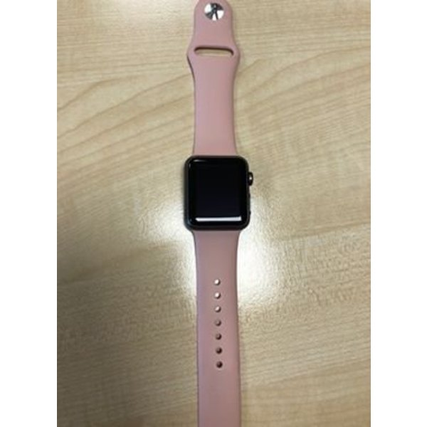 123Watches Apple watch sport band - pink san