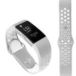 123Watches Fitbit charge 2 bracelet sportif  - gris blanc
