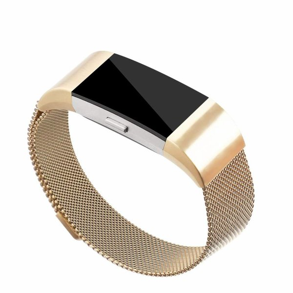 123Watches.nl Fitbit charge 2 milanese band - gold