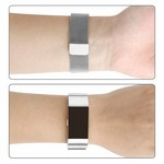 123Watches Fitbit charge 2 milanese band - d'argent
