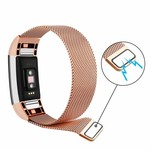 123Watches Fitbit charge 2 milanese band - rose goud