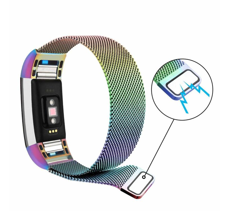Fitbit charge 2 milanese band - bunt