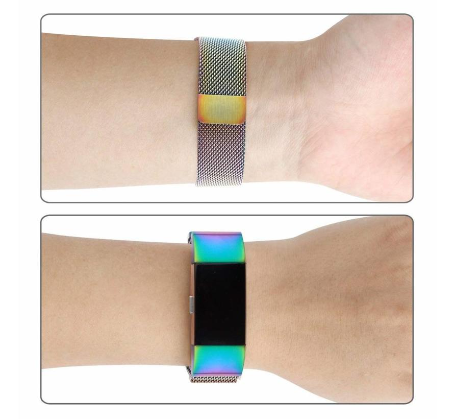 Fitbit charge 2 milanese band - colorful