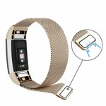 123Watches.nl Fitbit charge 2 milanese band - champagne