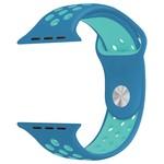 123Watches Apple Watch double sport sangle - bleu clair bleu