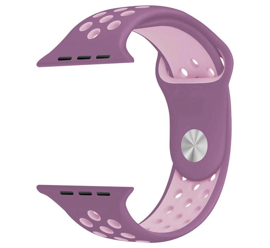 42mm Apple Watch violet  / roze sport bandje