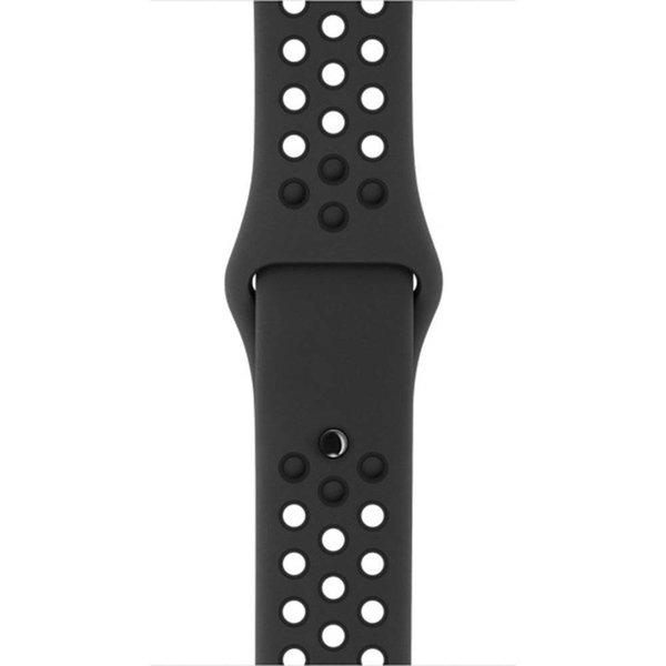 123Watches Apple watch dubbel sport bandje - bruin zwart