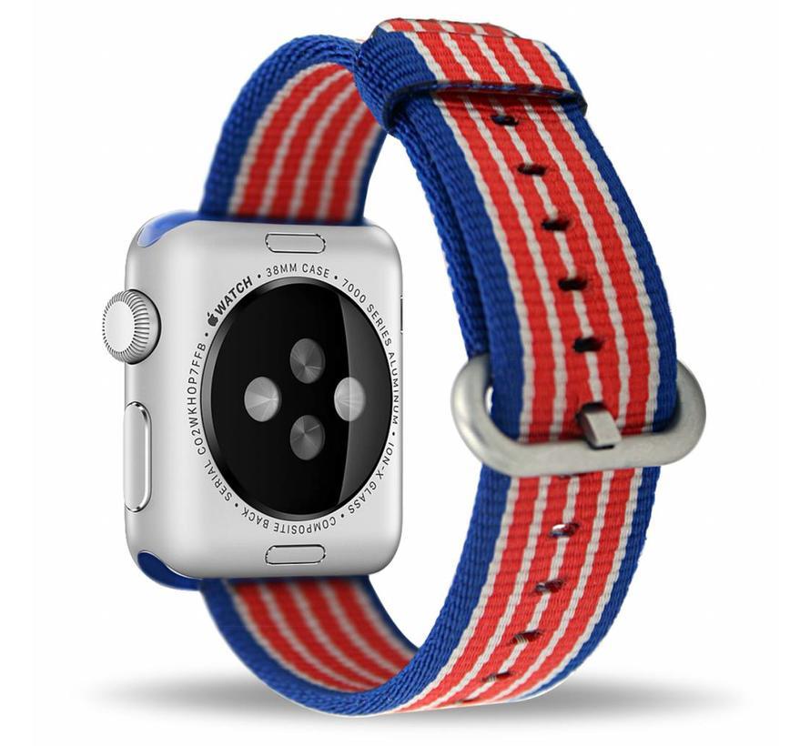 Apple watch nylon gesp band - american