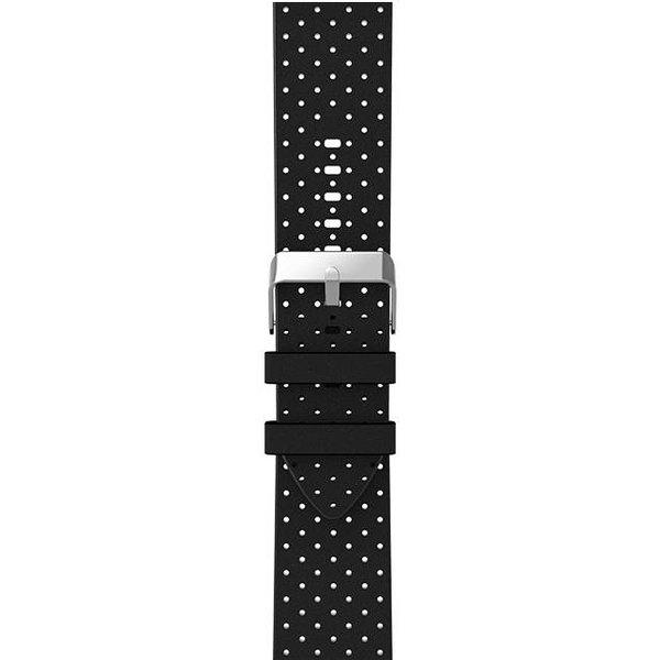 123Watches.nl Apple watch leren ventilate band - zwart