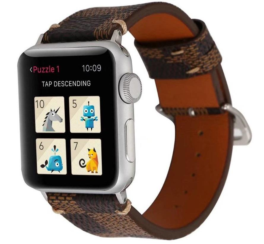 Apple Watch Lerngitterband - braun