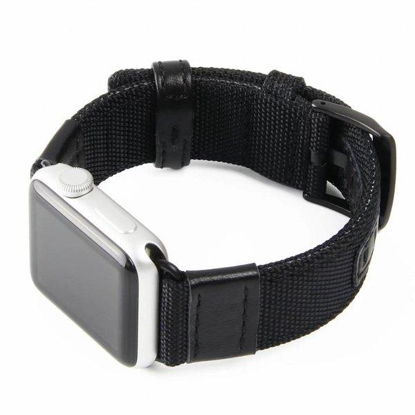 123Watches Apple Watch bande militaire en nylon - noir