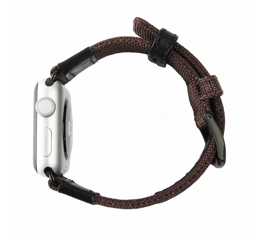 Apple watch nylon Militär- band - braun