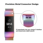 123Watches Fitbit charge 3 & 4 milanese band - colorful