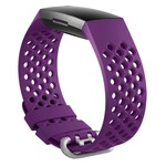 123Watches Fitbit charge 3 & 4 sport point band - donkerpaars