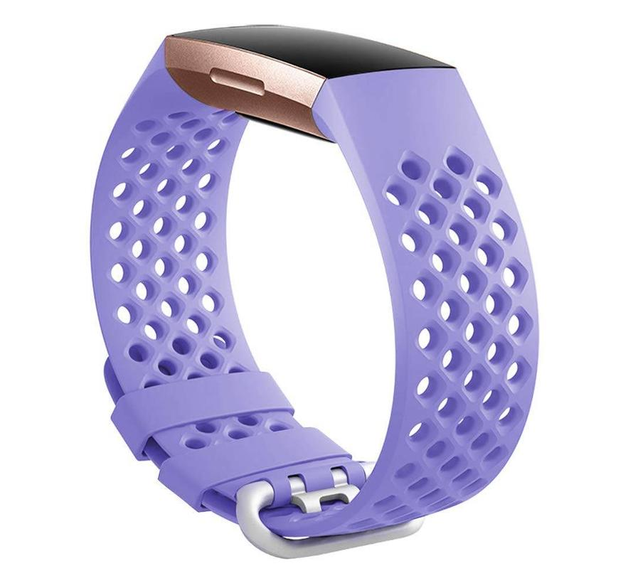 Fitbit charge 3 sport point band - lavendel