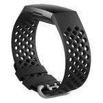 123Watches Fitbit charge 3 & 4 bande de points de sport - noir