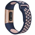 123Watches Fitbit charge 3 & 4 bracelet sportif  - rose bleu foncé