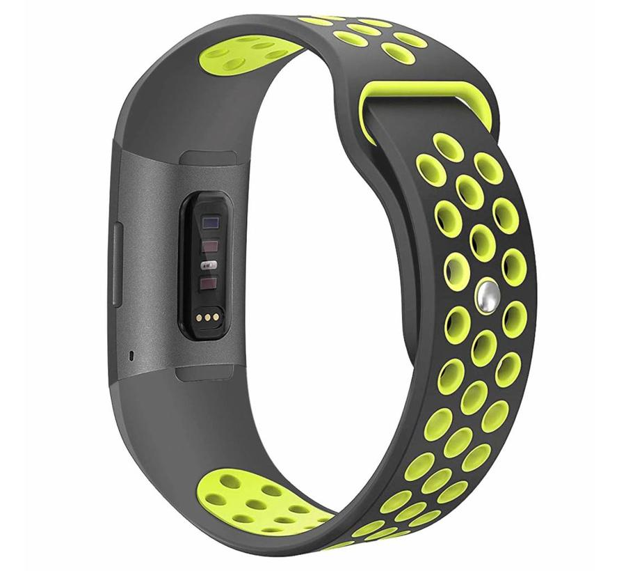 Fitbit charge 3 sport band - grijs groen