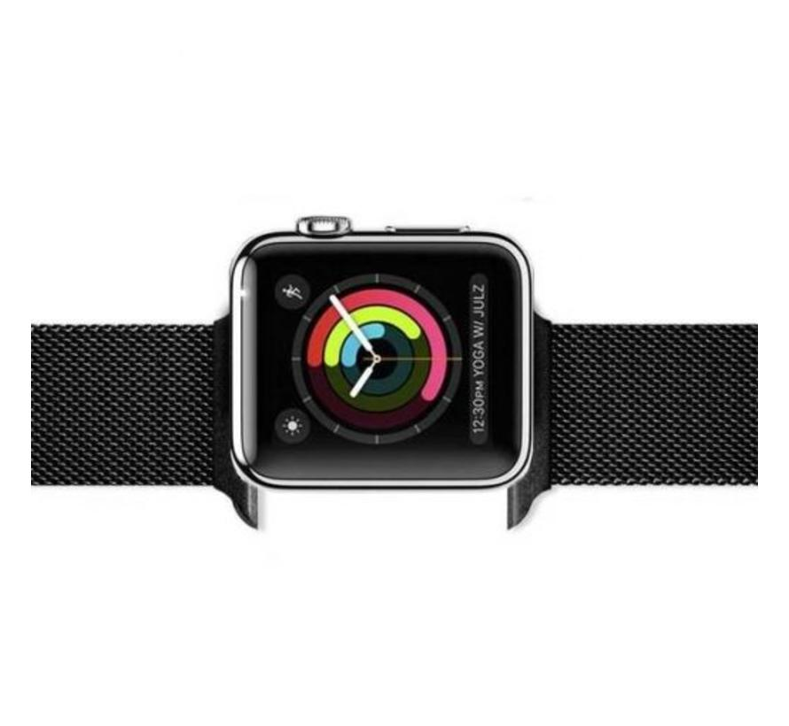 Apple watch milanese band - zwart