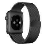 123Watches.nl Apple watch milanese band - black