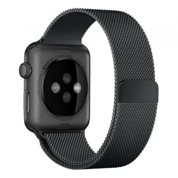 123Watches.nl Apple watch milanese band - schwarz