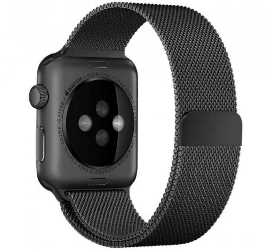 Apple watch milanese band - black