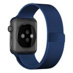 123Watches.nl Apple watch milanese band - blauw