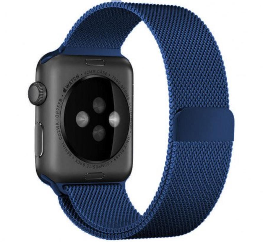 Apple watch milanese band - blauw