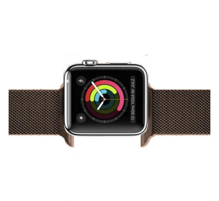 Apple watch milanese band - brown