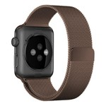 123Watches Apple watch milanese band - marron