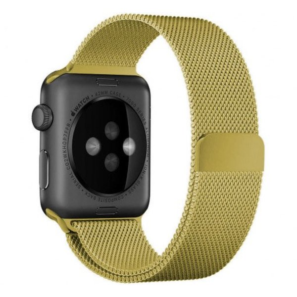 123Watches.nl Apple watch milanese band - goud