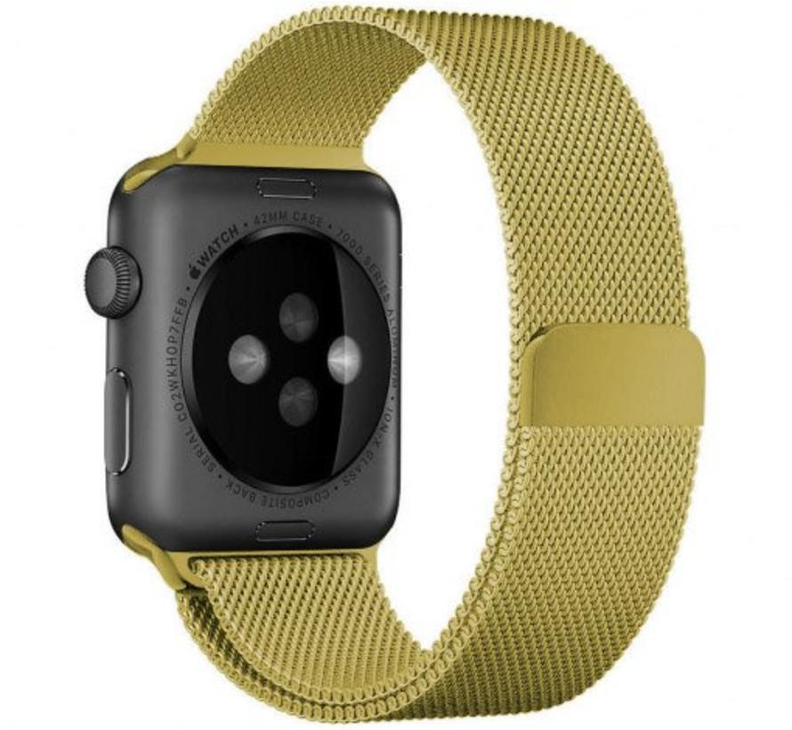 Apple watch milanese band - goud