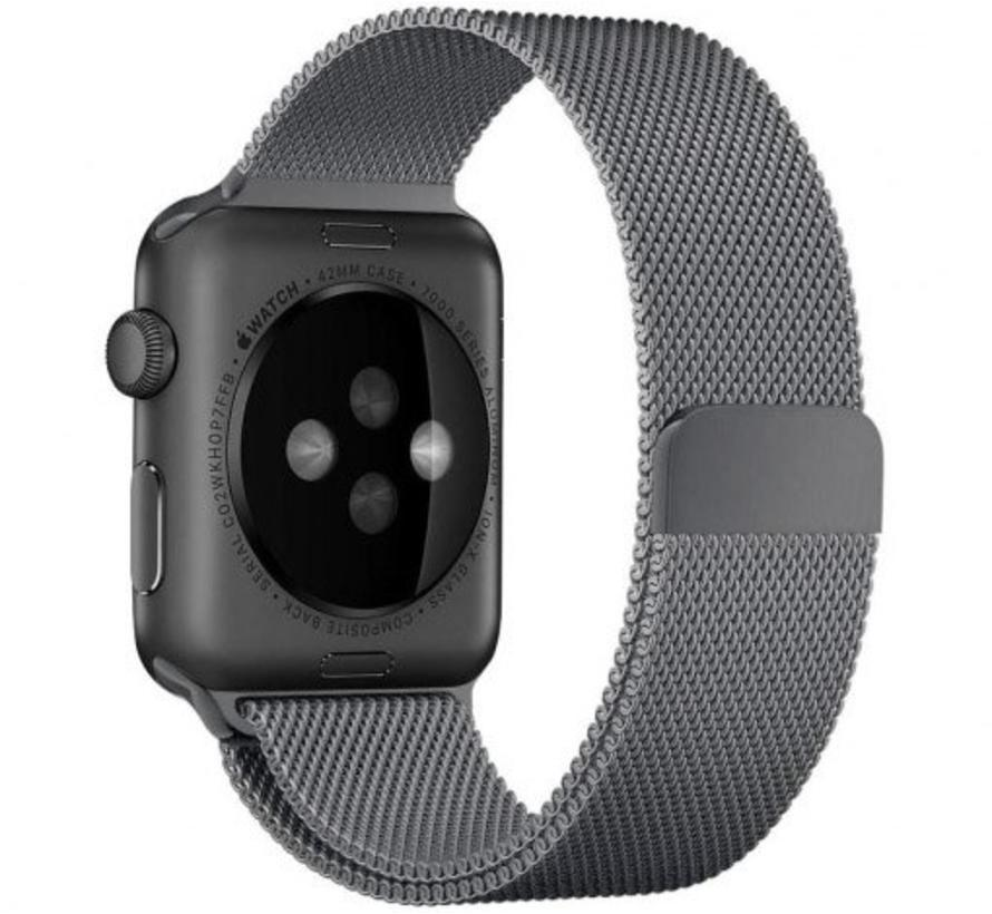 Apple watch milanese band - gun zwart