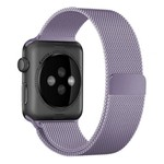 123Watches Apple watch milanese band - la lavande