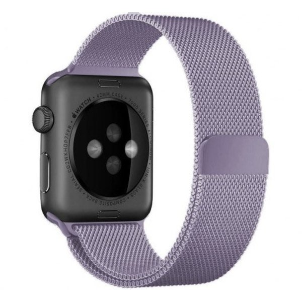 123Watches.nl Apple watch milanese band - lavendel