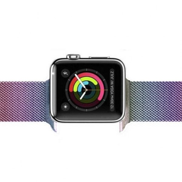 123Watches.nl Apple watch milanese band - colorful