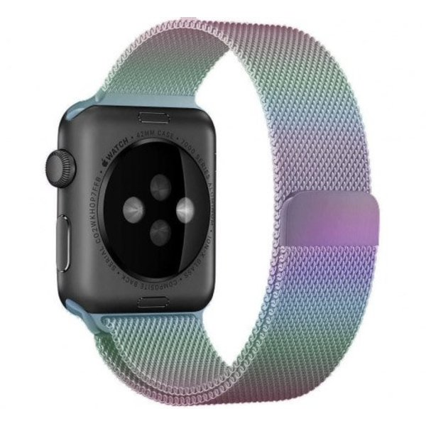 123Watches.nl Apple watch milanese band - bunt