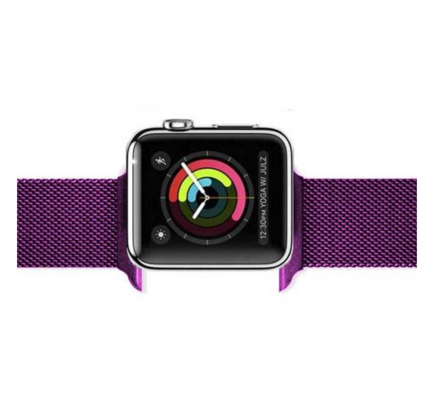 Apple watch milanese band - lila