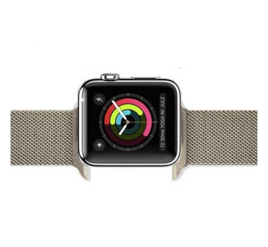 Apple watch milanese band - retro gold