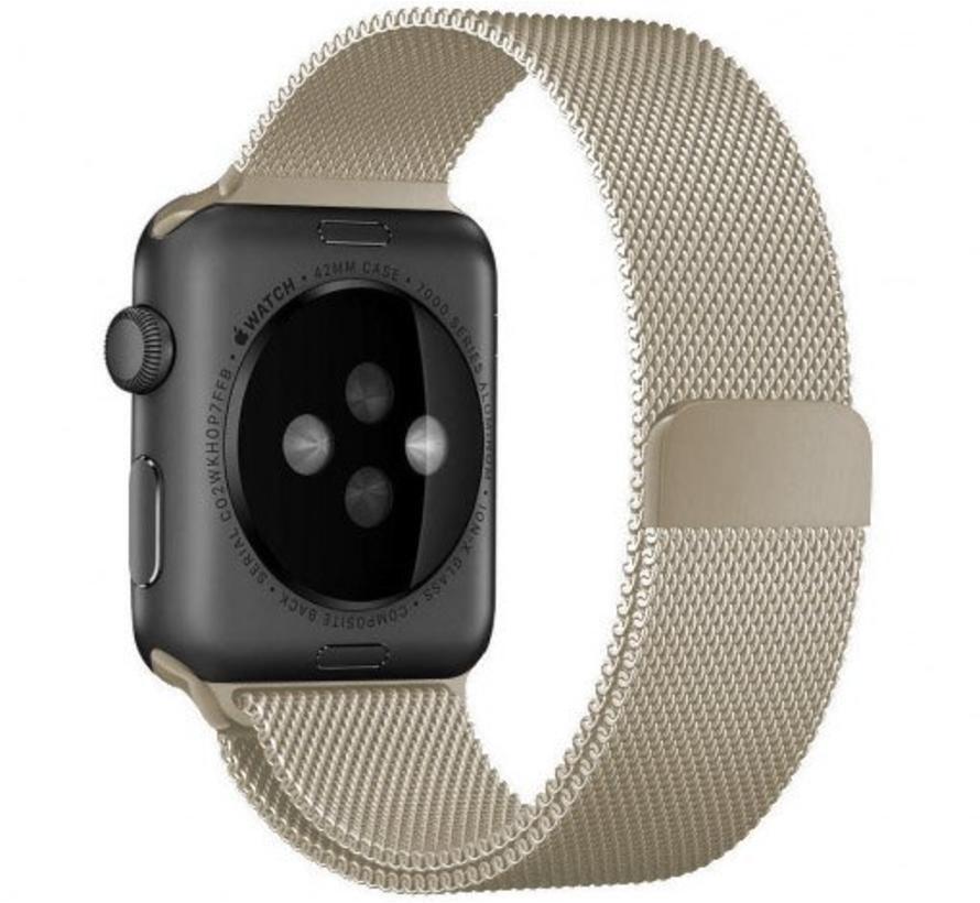 Apple watch milanese band - retro goud