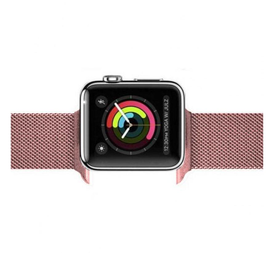 Apple watch milanese band - rose rood