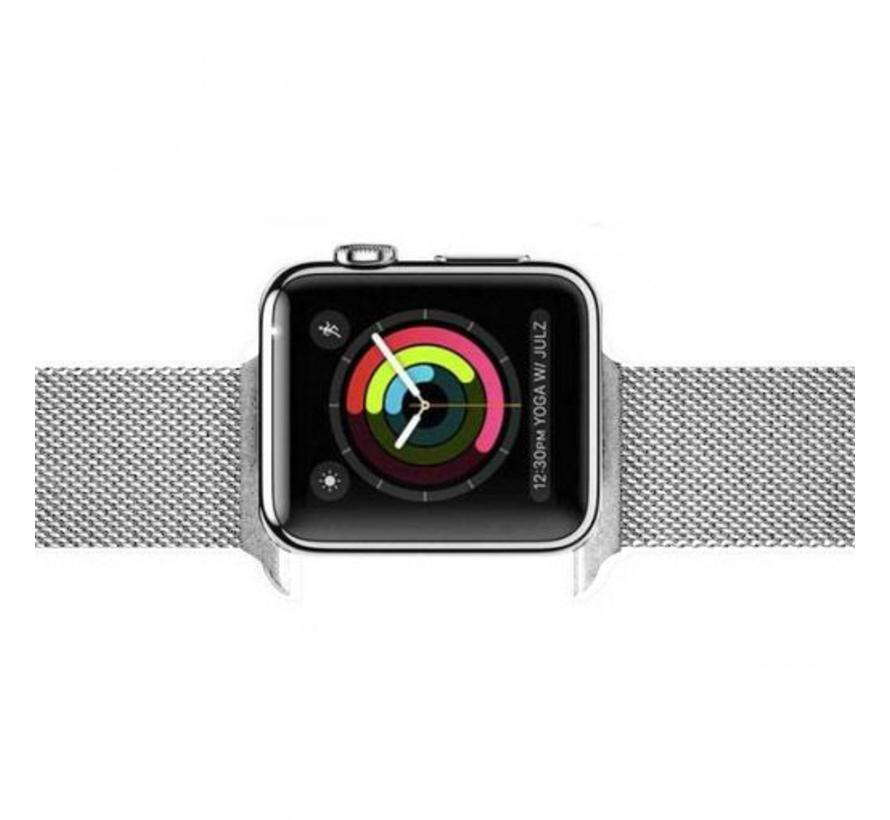 Apple watch milanese band - silber