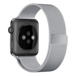 123Watches Apple watch milanese band - silver
