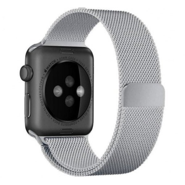 123Watches.nl Apple watch milanese band - zilver