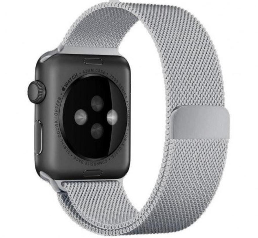 Apple watch milanese band - zilver