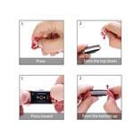 123Watches Fitbit charge 2 bracelet sportif  - orange