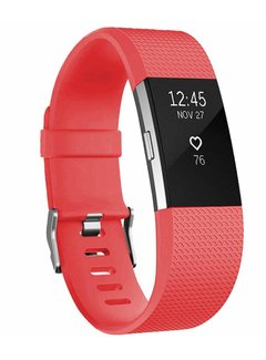 123Watches.nl Fitbit charge 2 sport band - orange