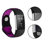 123Watches Fitbit charge 2 bracelet sportif  - noir violet