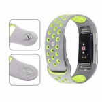 123Watches Fitbit charge 2 sport band - gray yellow